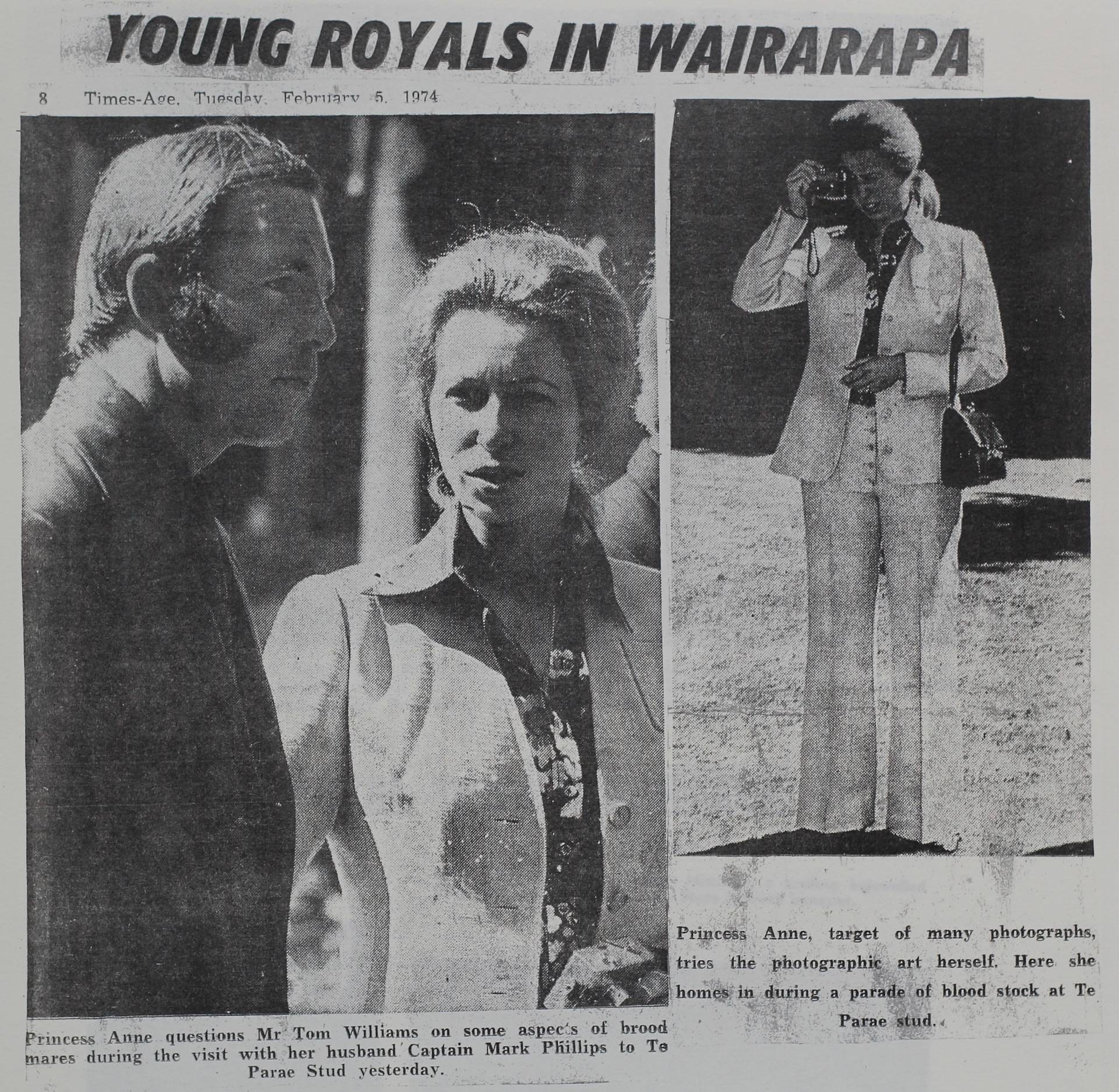 Young Royals in Wairarapa